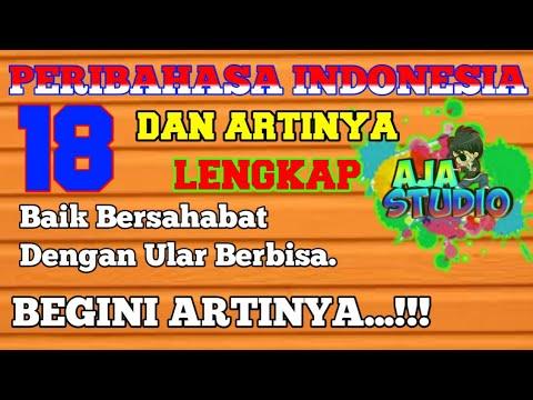 Peribahasa Indonesia Dan Artinya Episode Ke18