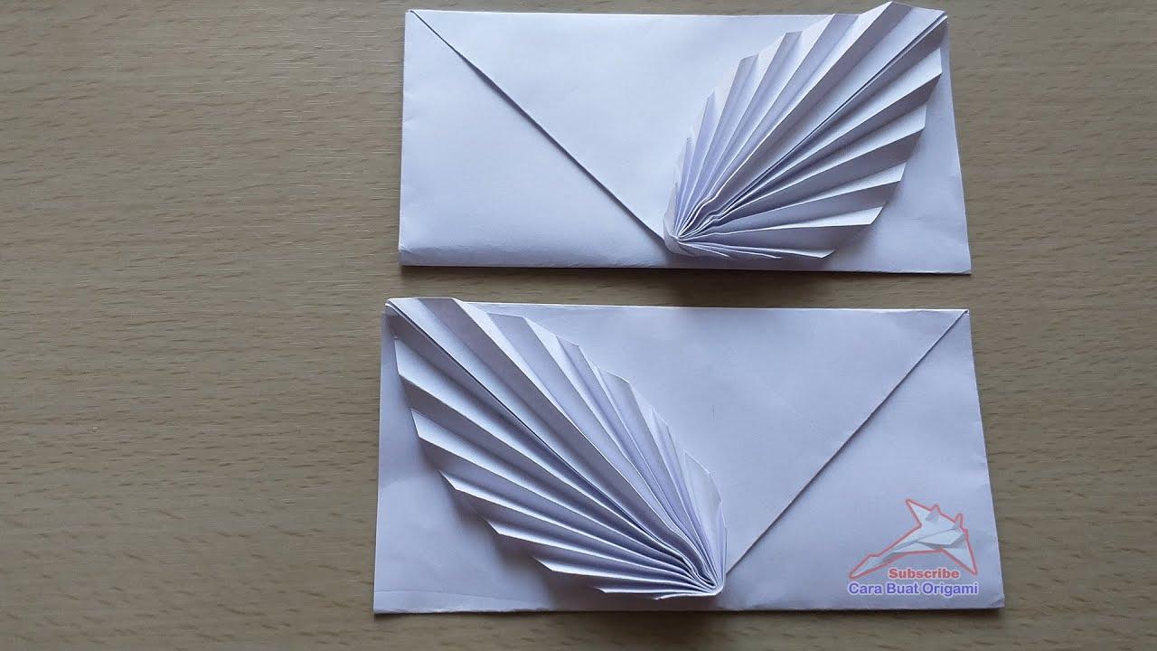 Origami Amplop Unik dan lucu