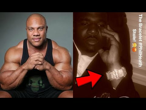 Phil Heath Accused of Stealing $100,000 Bracelet from NFL Player