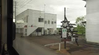 JR五能線 代行バス 五所川原→藤崎 2021.05.17