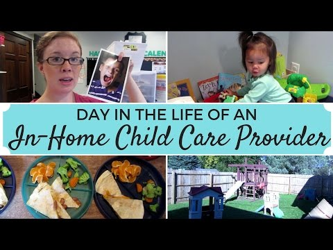 Day in the Life of an In-Home Child Care Provider