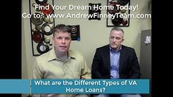 Types of VA Home Loans!