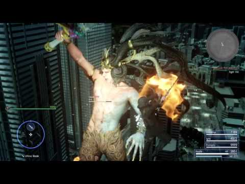Final Fantasy XV Ifrit Boss Fight