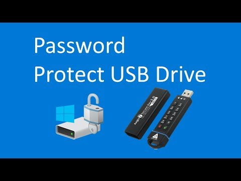 How To Password Protect A USB Drive In Windows (2019)