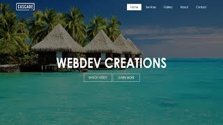 How To Create A Webṡite Using HTML And CSS Step By Step Website Tutorial