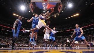 |NBA最美的空中舞蹈家!小飛俠科比生涯極致空中動作|