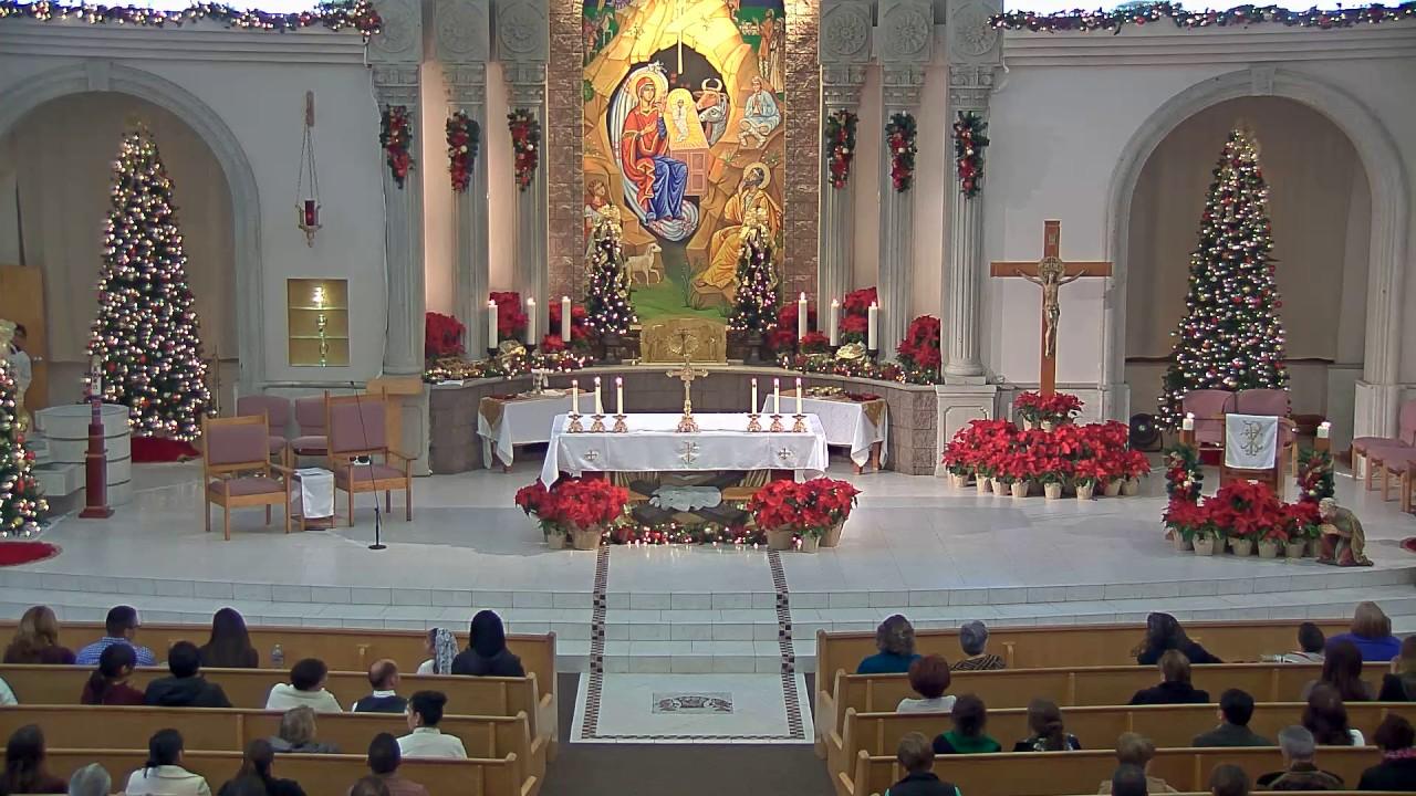Sunday 1/1/2017 - 1pm Mass in Spanish - St  Anne Roman Catholic Parish