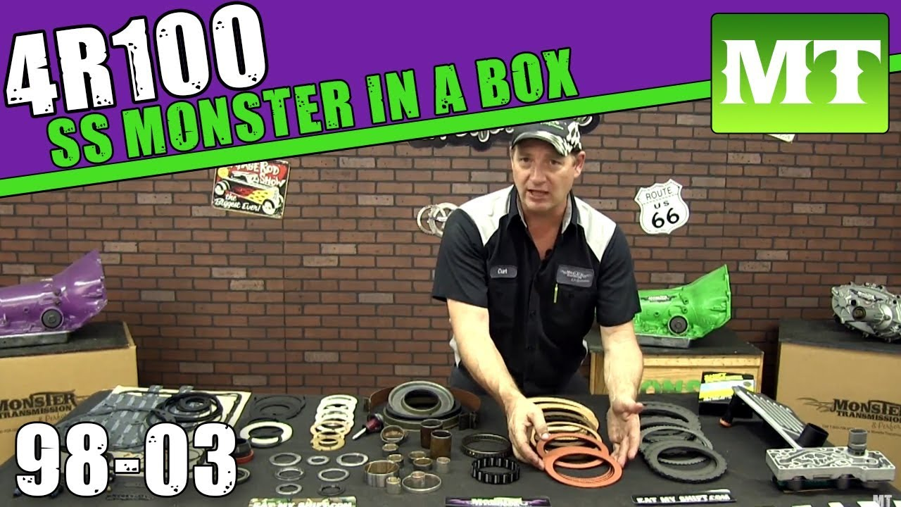 Monster transmission rebuild kit-9929