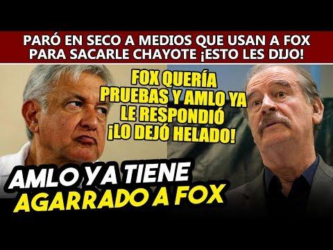 Obrador ya tiene agarrado a Fox, presentará pruebas por r0b0 de gasolina en su gobierno