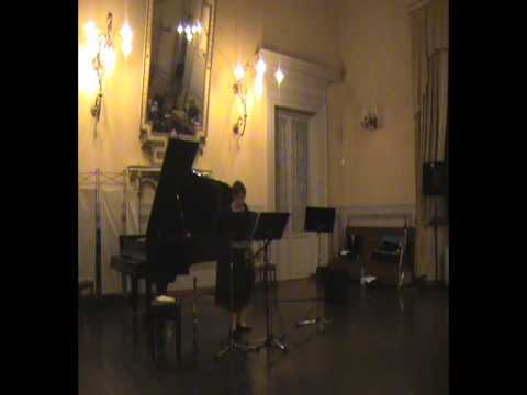 Chason Goldfinger: Mediterrabian Pastiche op.10 - Arianna Tieghi, clarinetto