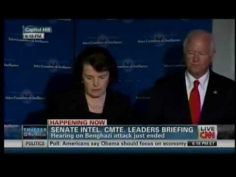 Senators Chambliss and Feinstein SSCI Press Conference