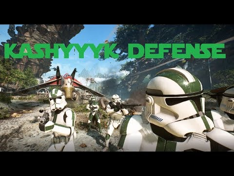 Star Wars: Battlefront 2 Early Access - Defense of Kashyyyk