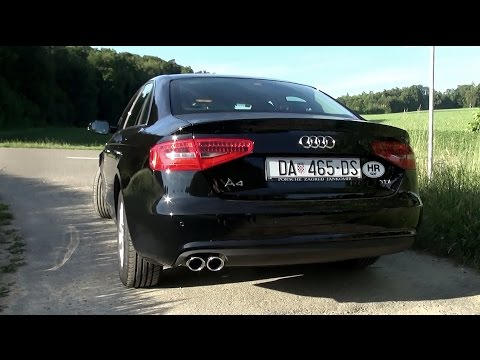 2015 Audi A4 Multitronic 2.0 TDI (150 HP) Test Drive