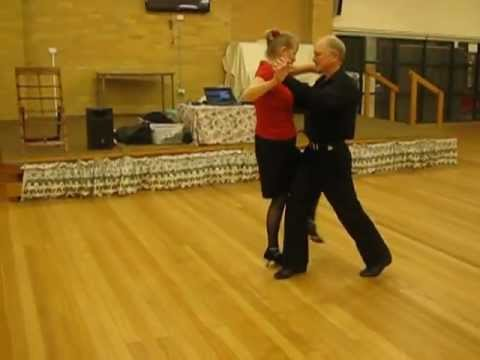 Tango Argentino Sequence Dance Demonstration