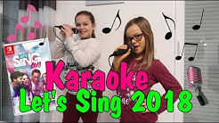 Karaoke mit Nintendo Switch Let's Sing 2018