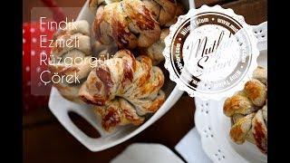 Fındık Ezmeli Rüzgargülü Çörek - Mutfak Sırları