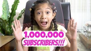 1 MILLION SUBSCRIBERS!!!! thumbnail