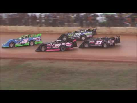 Crate Late Model Feature from 411 Motor Speedway, December 31st, 2016.