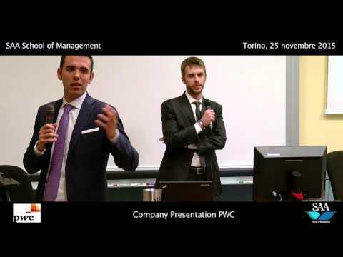 Pwc Company Presentation - SAA Torino