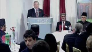 Inauguration of Baitul Afiyat Mosque, Sheffield - Richard Caborn