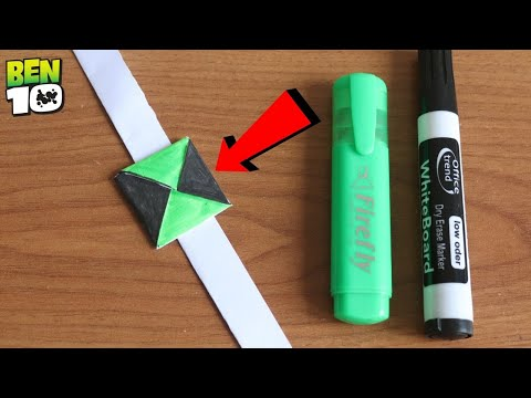 How To Make A Ben 10 Watch Using Paper Or Eva Foam New Method | Dr. Crazy Science