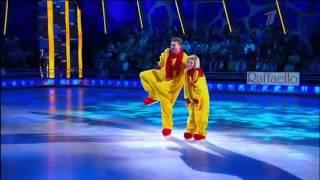 Шоу Ледниковый период 2013  8 й выпуск  Албена Денкова и Петр Кислов