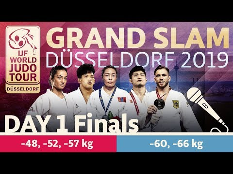 Judo Grand-Slam Düsseldorf 2019: Day 1 - Final Block