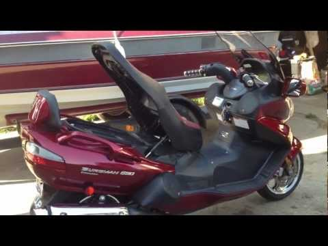 2008 Burgman 650 Executive CUSTOM SOUND SYSTEM