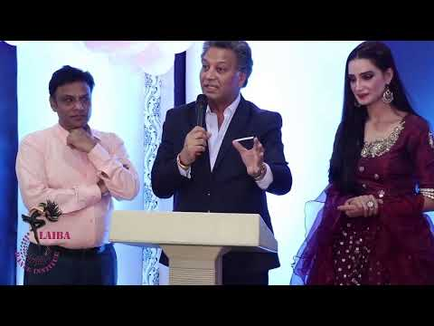 Pakistani French Fashion Designer Mehmood Bhatti Appreciating Laiba Ali Inauguration Ceremony Youtube