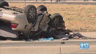Stockton High-speed Chase Crash