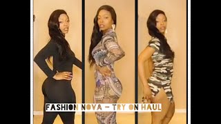 FASHION NOVA - Try On Haul - Jumpsuits Catsuits Casual Dresses Bought 7 Items Gweni*Lavay