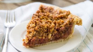 Sky High Rhubarb Pie