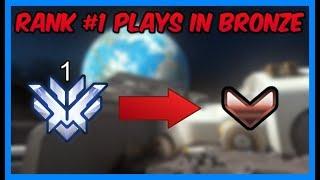 """He's Smurfing vs Bronze Players & Trolling!"" Trolling Bronze #1"