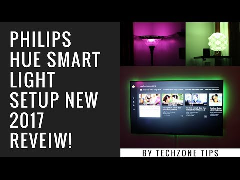 Philips Hue Smart Light Setup NEW 2017 Review!