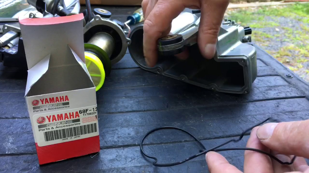 Replace VST filter 2001 Yamaha HPDI 200