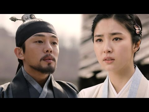 Yoo Ah In let Shin Sae Kyung go and chooses solitary way 《Six Flying Dragons》 육룡이 나르샤 EP49