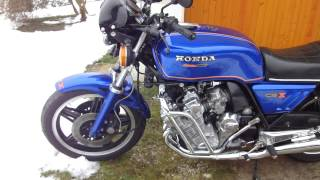 CBX 1000 new engine sound modified Marving 6/2