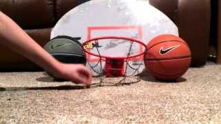 Nike mini basketballs and Sklz pro minm hoop street ball edition XL! Review