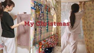 VLOG나의 크리스마스&미드처돌이의 레트로st …
