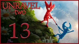 Unravel 2 - Кооператив - Fear of the dark - Испытание 7 [#13] | PC