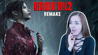 OMG SHE'S BEAUTIFUL!! Resident Evil 2 Remake Claire Gameplay!