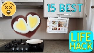 15 Best Simple Useful Life Hacks HOW TO!