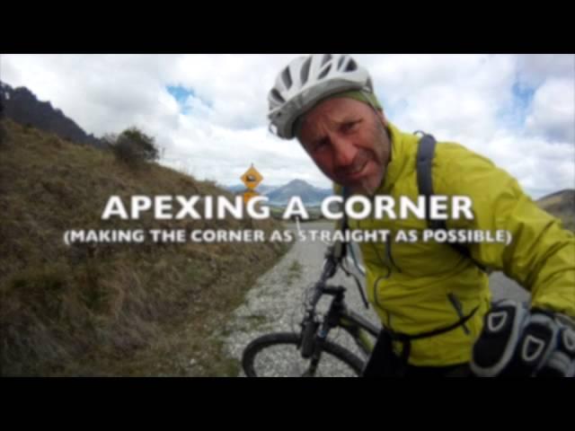 Mountain Biking - Apexing a Corner