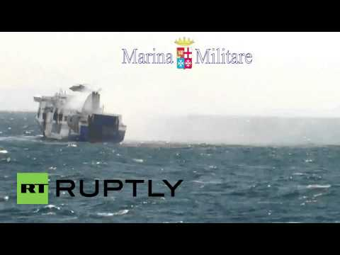 Albania: Norman Atlantic ferry fire takes ten lives