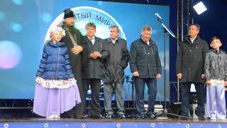 Помощник полпреда по СФО и мэр Новосибирска поздравили Бердск с 302-летием