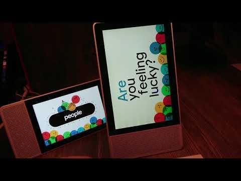 Lenovo smart displays OK Google