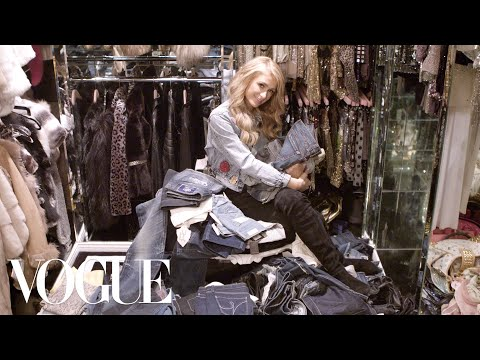 Inside Paris Hilton's Closet and Denim Collection