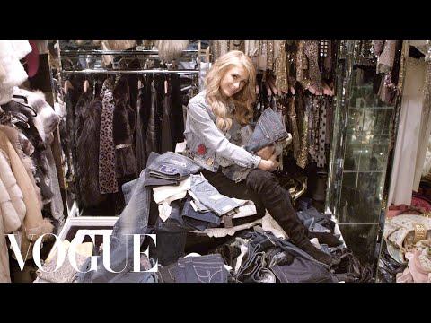 Inside Paris Hilton鈥檚 Closet and Denim Collection | Vogue