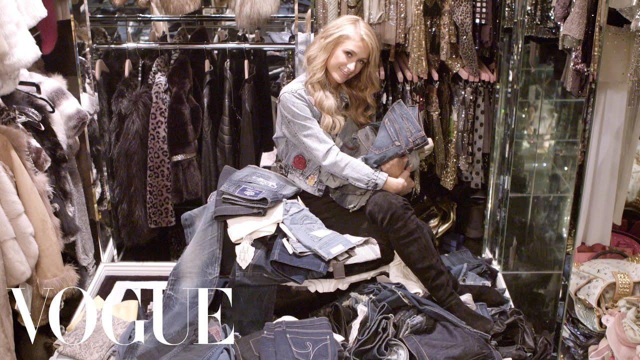 Cabina Armadio Paris Hilton.Inside Paris Hilton S Closet And Denim Collection Vogue