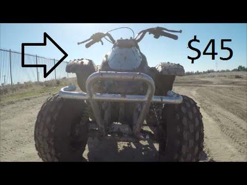 $45 ATV QUAD PROJECT 212CC PREDATOR MOTOR